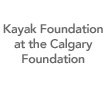 Kayak Foundation at the Calgary Foundation