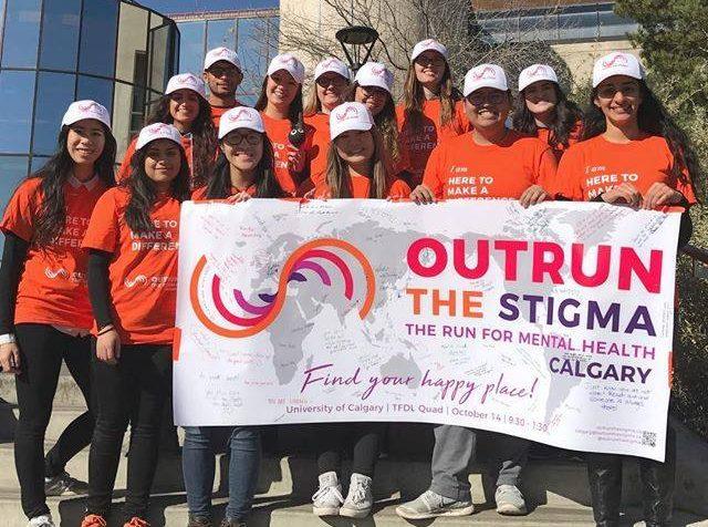 outrun the stigma calgary 2017 volunteers