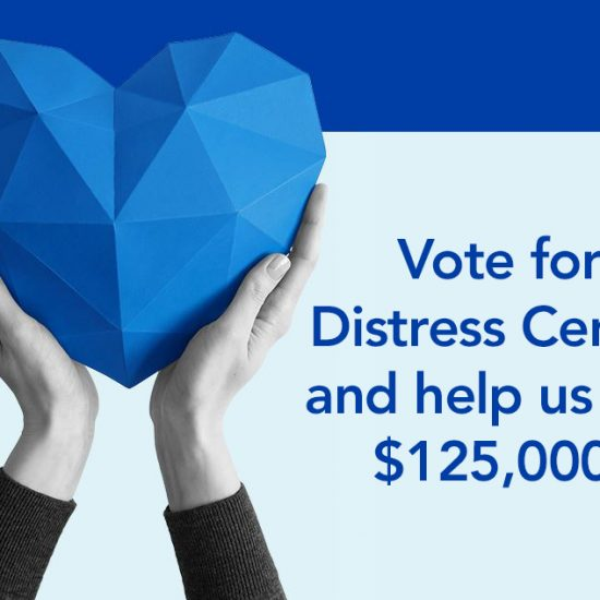 Vote for Distress Centre Calgary to help us win funding to increase the space in our contact centre