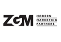 img text: ZGM Modern Marketing Partners
