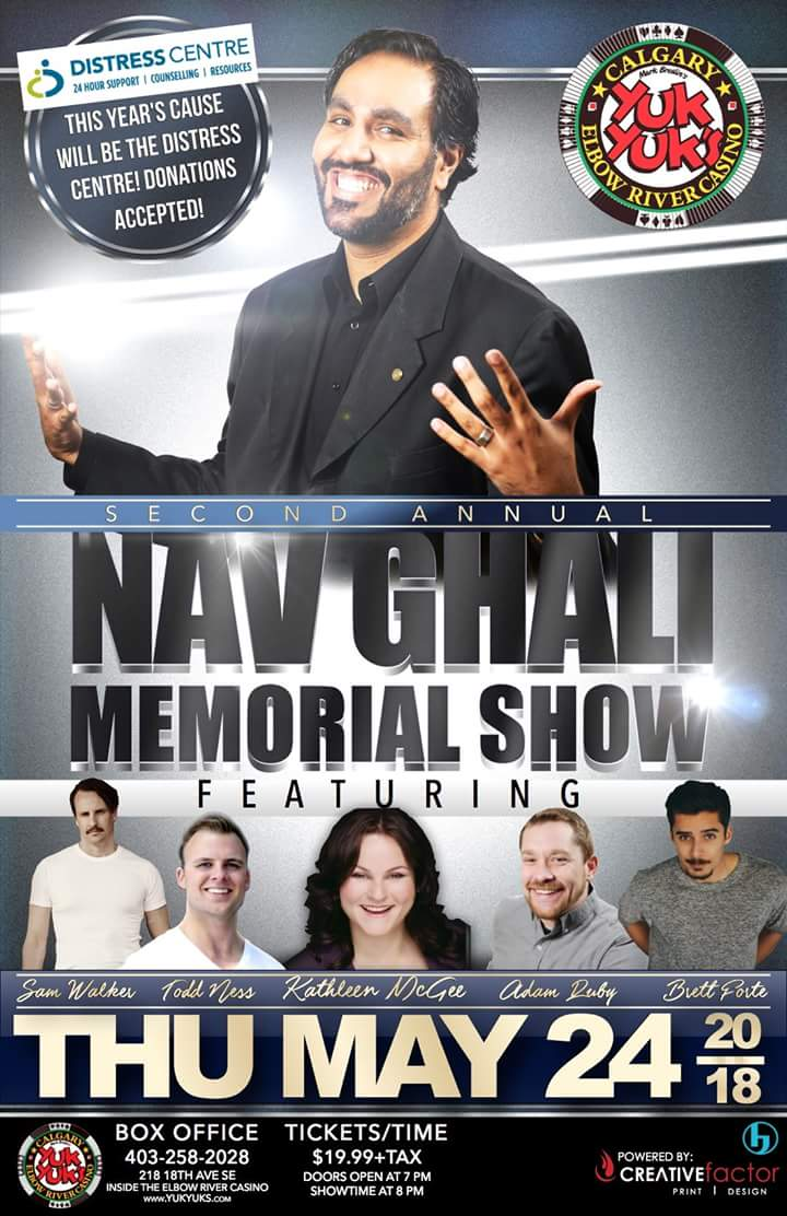 Nav Ghali Memorial Comedy Show at Yuk Yuk's