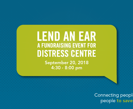 lend an ear 2018 in support of distress centre calgary