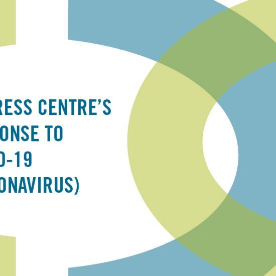 img text: Distress Centre's response to COVID-19 (coronavirus)