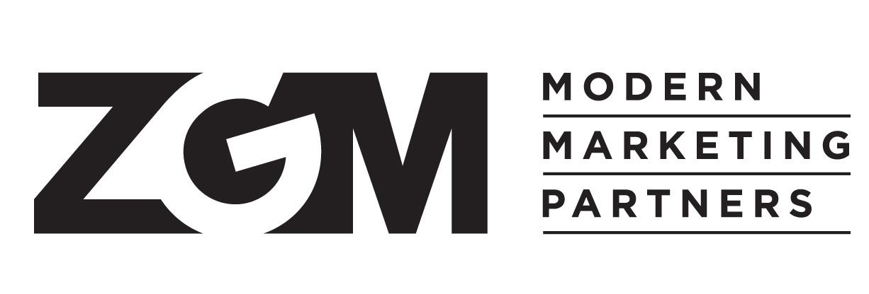 img text: ZGM Modern Marketing Partners